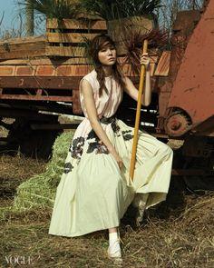"""""""Animal Farm"""" Vogue Korea 2015 - Bottega Veneta"""