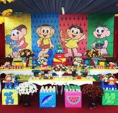 Quem não ama a Turma da Mônica, não é? E uma festa infantil com a turminha do bairro mais querida do país pode ficar incrível e deixar o seu filho mais do