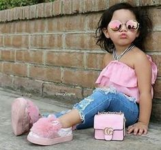 Discover recipes, home ideas, style inspiration and other ideas to try. Little Girl Outfits, Cute Outfits For Kids, Little Girl Fashion, Toddler Fashion, Kids Fashion, Baby Kind, Cute Baby Girl, Cute Little Girls, Cute Kids
