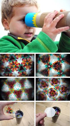 DIY Homemade Kaleidoscope- I have wanted to know how to make one of these for so long!!