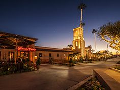 The Headquarters in Seaport Village - new w/cool restaurants etc.