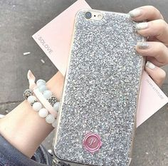 Personalised Iphone 6 /6 plus,  iPhone 5/5s, iPhone  4/4s, Samsung galaxy note 2/3, s3/s4/s5 glitter case with initial stamp