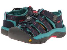 Keen Kids Newport H2 (Toddler/Little Kid) Midnight Navy/Baltic - Zappos.com Free Shipping BOTH Ways
