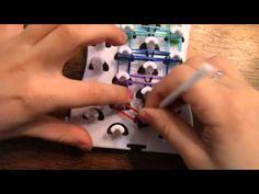 ▶ RAINBOW LADDER Bracelet with FUN LOOM - YouTube