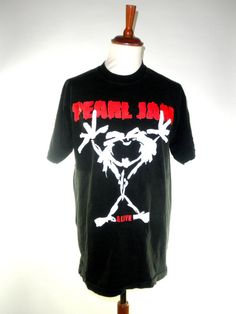 Pearl Jam ALIVE Tee Peral Jam Jeremy Tour by PacificWonderland, $125.00