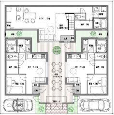 弊社の「リンクハウスシリーズ」では、三世帯、四世帯の家族が、隣同士の一戸建てに別々に住む