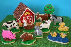 Barnyard Cookies - Part 1 | by cookieartisan