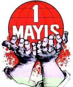 Emek ve Dayanışma Günü kutlu olsun! International Workers' Day--May 1 International Workers Day, Labour Day, May Days, Happy Labor Day, May 1, Spiderman, Superhero, Instagram Posts, Poster