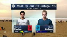 Meo Rip Curl Pro Portugal: Round Two, Heat 2