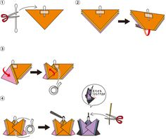 折り紙ひな人形 - 世界あそび事典