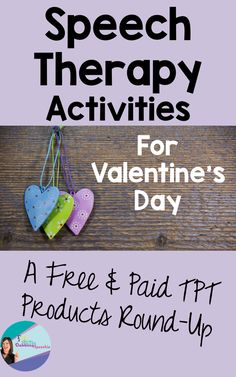 "We all need more Valentine's Day speech therapy activities! Valentine's day is a fun, easy theme that you can use in speech therapy. By February, I am usually feeling the winter lull and a little ""love"" perks my spirits. There are TONS TPT Valentine's Day speech therapy activities that will fit your caseloads needs. I …"