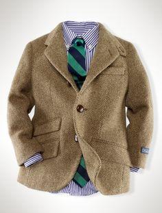 Tweed for Kids courtesy of Ralph Lauren.