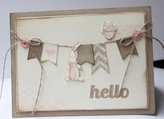 Baby We've Grown Stampin' Up! www.stampwithheather.ca