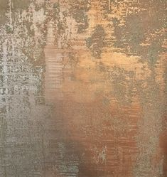 Glass Bead Gel over Copper Metallic Paint, both products by Golden Paintworks Faux Painting Walls, Faux Walls, Wall Painting Decor, Textured Walls, House Painting, Metallic Wallpaper, Textured Wallpaper, Metallic Paint Colors, Paint Colors For Living Room