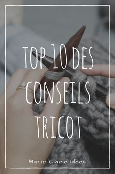 Top 10 des conseils pour apprendre à tricoter - Marie Claire Idées Owl Hat, Creation Couture, Hand Sewing, Sewing Crafts, Knit Crochet, Knitting, How To Make, Diy, Handmade