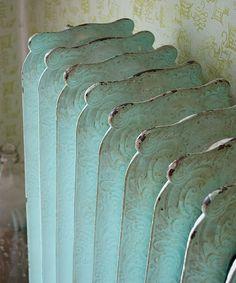 Rejuvenation Salvage Sighting: lovely old radiator