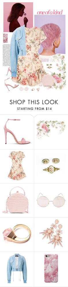 """""""2017: One of a Kind"""" by rockerchick21 ❤ liked on Polyvore featuring Gucci, Zimmermann, Nancy Gonzalez, Kendra Scott and Balmain"""