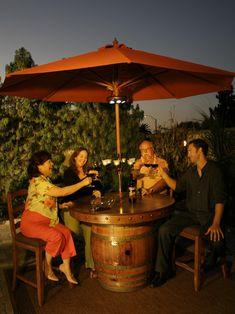 Glen's Wine Barrel Tables | Vintage Wine Barrel Furniture