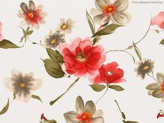 Geschilderde bloemen - achtergronden voor je desktop: http://wallpapic.nl/kunst-en-creatieve/geschilderde-bloemen/wallpaper-605