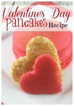 These are SO FUN! My kids love having these for … Valentines Day Pancakes Recipe! These are SO FUN! My kids love having these for Valentine's Day Breakfast! Kinder Valentines, Valentines Day Treats, Valentine Day Love, Valentine Day Crafts, Homemade Valentines, Valentine Ideas, Velvet Cake, Breakfast For Kids, Breakfast Recipes