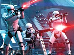 Fighting For the Wrong SideFirst Order stormtroopers lay down intense cover fire within Starkiller B... - Provided by TIME Inc.