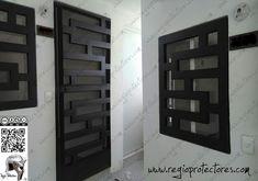 Window Grill Design Modern, Grill Door Design, Door Gate Design, Steel Gate Design, Front Door Design, Window Design, Modern Windows And Doors, Modern Entrance Door, Burglar Bars