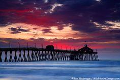 Pier on Imperial Beach in San Diego