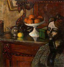 Nature morte dans la salle à manger By Auguste Chabaud ,1912