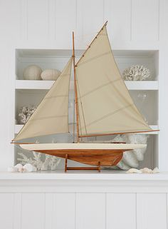 boat for the mantel