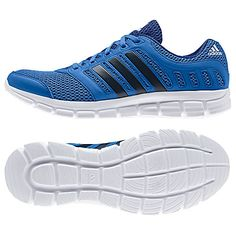 new styles e2b5c 3238a Adidas Breeze 101 Men s Running Shoes, Bright Royal at John Lewis   Partners