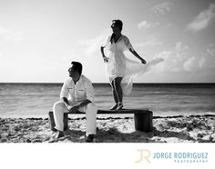 Jorge Rodriguez Photography - Destination Wedding Photography & Portrait based in Playa del Carmen, covering Tulum, Cozumel, Isla Mujeres, Cancun & Riviera Maya Mexico  - Engagement Portraits Grand Sunset Princess: Samira & Farzan planned their weekend holidays at Grand Sunset Princess, they were so sad because we were about to cancel the engagement session due a big storm was passing by Playa del Carmen, we agreed to meet only if the rain stops or we must cancel it. So I phoned them around…