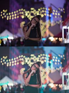 Before & Afters — Brandon Woelfel Fairy Light Photography, Night Time Photography, Street Photography, Photography Ideas, Brandon Woelfel, World Pictures, Lights Background, Photo Tips, City Lights