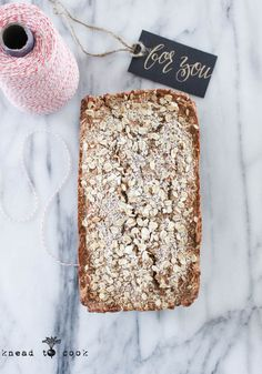 Breakfast Coconut Quinoa Bread.  Vegan. Gluten Free.