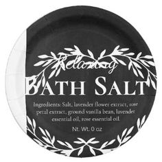 Black Vintage Relaxing DIY Bath Salt Labels | Zazzle.com Black Chalkboard, Diy Chalkboard, Diy Bath Salt Labels, Homemade Scrub, Relaxing Bath, Easy Peel, Vintage Labels, Bath Salts, Custom Stickers