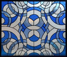 Abstract Stained Glass Pattern   Simple Abstract Stained Glass Designs Bluecircles_stainedglass.jpg