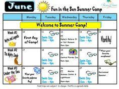 100 Summer Camp Themes Summer Camp Programming Mandegarinfo
