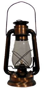 20 Series Bronze Plated Kerosene Lantern