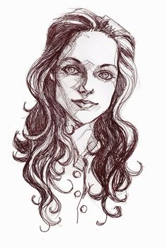 Mary Tamm as Romana from Doctor Who - Portrait by Ghislain Barbe
