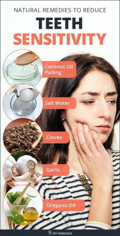 Natural Remedies to Reduce Teeth Sensitivity    Treat your tooth sensitivity with the below mentioned natural home remedies. Have a look at these remedies and follow it regularly to reduce your tooth sensitivity.  #DIYRemedies