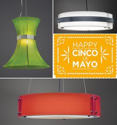 Happy #CincoDeMayo from all of us at #UltralightsLighting!  #lighting #InteriorDesign #CincoDeDrinko #fiesta