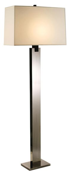 Sonneman Monolith Floor Lamp Black Nickel | LampsPlus.com  (for small conference room)