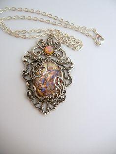 "Artbeads.com Jewelry Design Star Round 9 Runner-Up: ""Anabeth Filigree Necklace"" By Shawnine Dabasol"