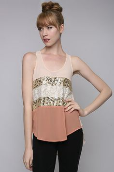 Lace, Pastel, Peach, Retro, Sequin, Sheer, Trendy tops, Vintage Inspired, Women's Clothing #Redemption