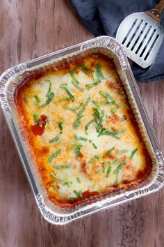 Easy Freezer-to-Oven Chicken Parmesan