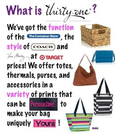 What is Thirty-One?                                                                                                                                                      More