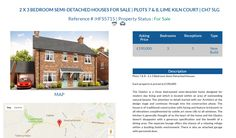 HFS5715 2 X 3 BEDROOM SEMI-DETACHED HOUSES FOR SALE Asking Price £190,000 Location PLOTS 7 & 8, LIME KILN COURT | CH7 5LG #OnlineEstateAgency #FreeOnlineEstateAgency  #OnlineHousesForSale #SellingYourHouseOnline  #FreePropertyValuationOnline #OnlineEstateAgent  #Ownersellers #SellingYourHouseOnlineForFree #FreePropertyValuation #FreeOnlineEstateAgents