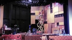 Time lapse of fall stage design 2011 by Life Center. 2011 fall/winter stage design.   Several weeks compacted down to 60 seconds.