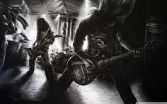 Metal Rock Band HD desktop wallpaper : Widescreen : High ...