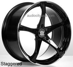 "19"" KOG Wheels Rims BK For Mercedes Benz Audi"