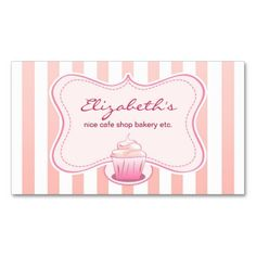 Make your own cupcake business cards image collections card design simple cupcake color customizable business card templates make simple cupcake color customizable business card templates make reheart Choice Image